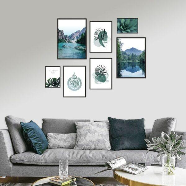Green-Nature-Inspired-Islamic-Print-jimhaarts