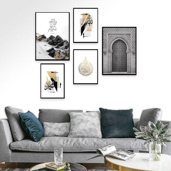 Set-of-5-White-Mosque-Prints-jimhaarts